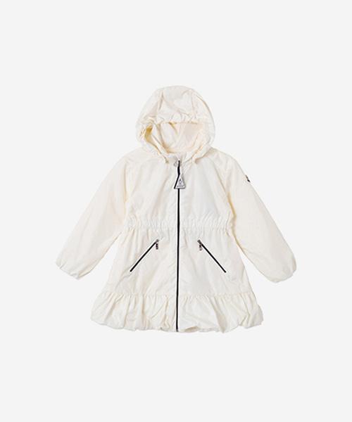 [선착순특가][몽클레어] 제라늄 화이트 후드 재킷