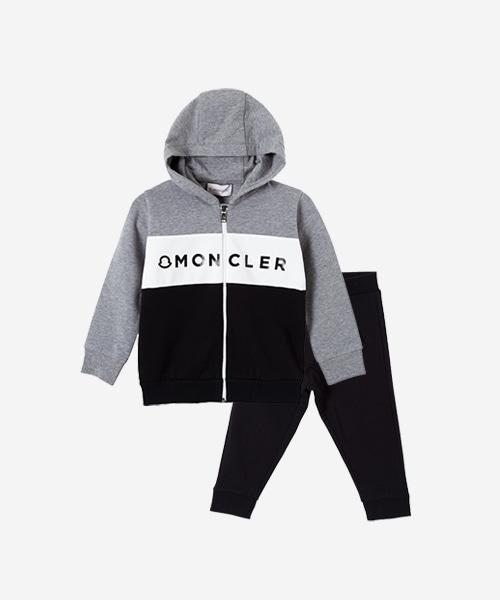 [선착순특가][몽클레어] 프린트 디테일 트라이컬러 재킷