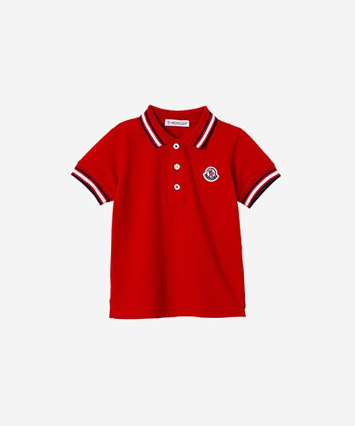 [추가5%할인][몽클레어] 베이비 PK 반팔 티셔츠