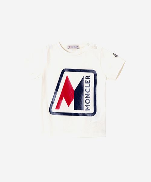 [추가5%할인][몽클레어] 로고프린터 베이비 반팔 티셔츠